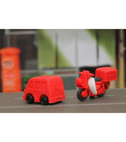 Conjunto gomas IWAKO vehículos de Correos