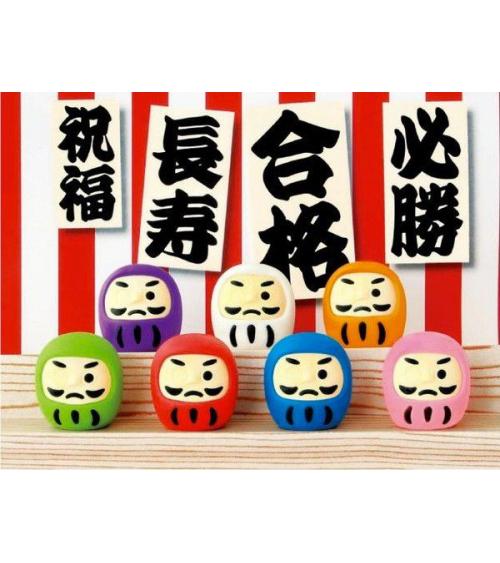 Set gomas de borrar Daruma