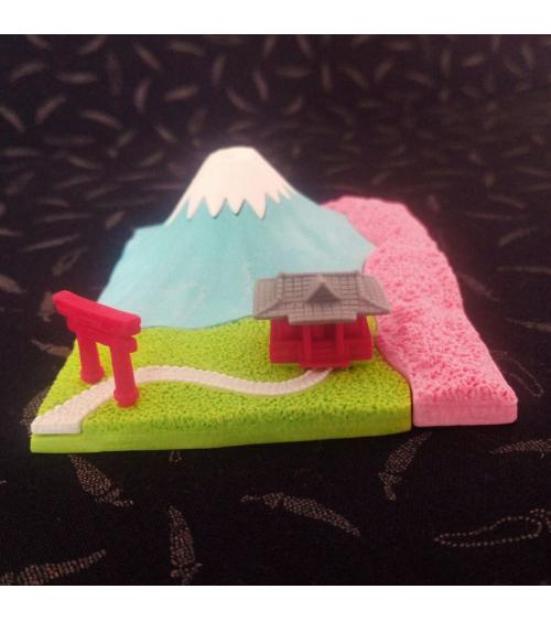 Blister gomas IWAKO Monte Fuji primavera