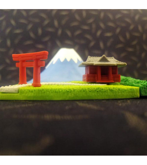 Blister gomas IWAKO Monte Fuji verano