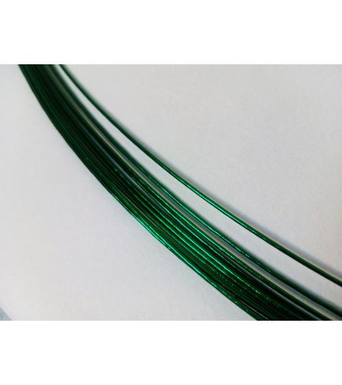 Mizuhiki verde oscuro