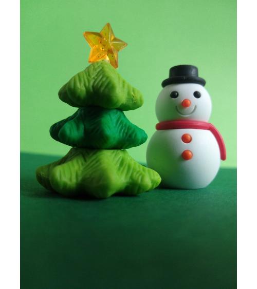 Conjunto gomas IWAKO Navidad