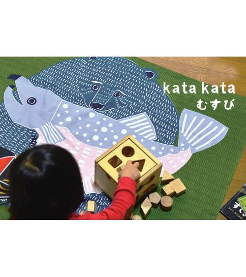 Furoshiki. Kata-kata oso salmón