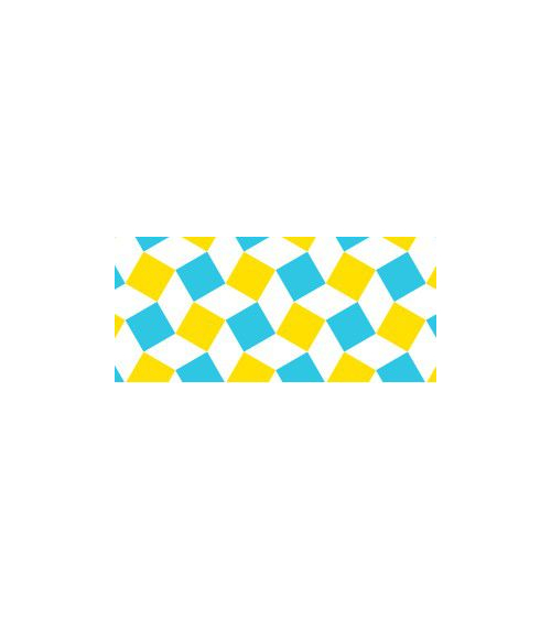 Washi tape (masking tape) square yellow