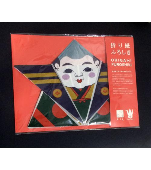 Furoshiki. Origami fukusuke (50 cm x 50 cm)