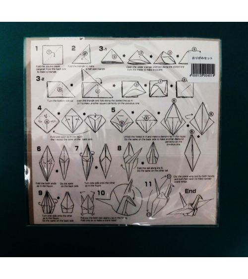 "Kit papel origami ""Hiroshima"". 15x15cm."