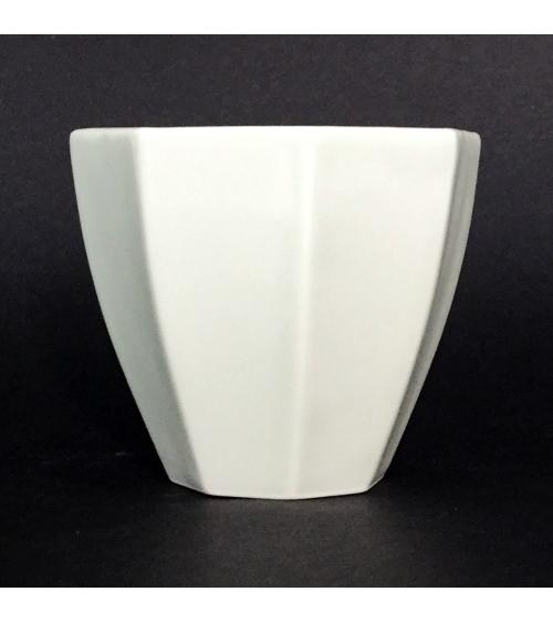 Porcelain octagonal glass