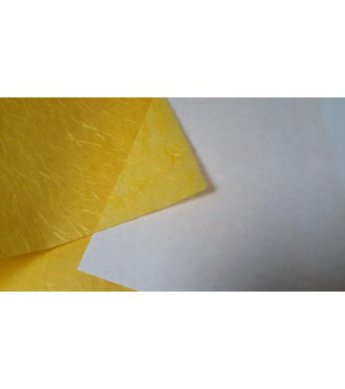 Papel Japonés Unryu amarillo
