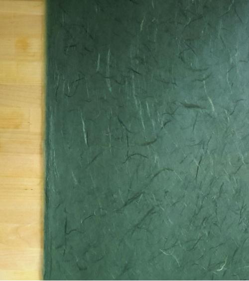 Fir green Unryu paper