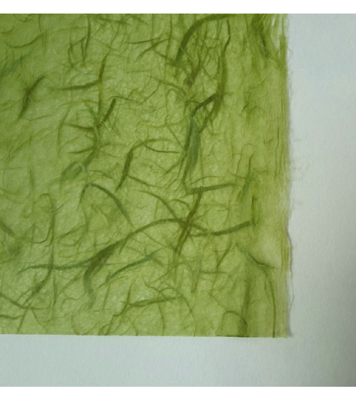 Light green Unryu paper