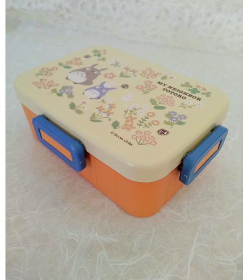 Orange Bento box Totoro