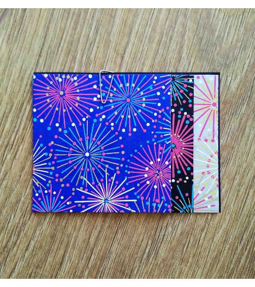 Kit papel origami 2+2+2 hojas Fuegos. 7,5x7,5cm.