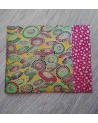 Kit papel origami 2+2 hojas. Sombrillas. 13x13cm.