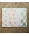 Kit papel origami 2+2 hojas. Hojas de arce. 13x13cm.