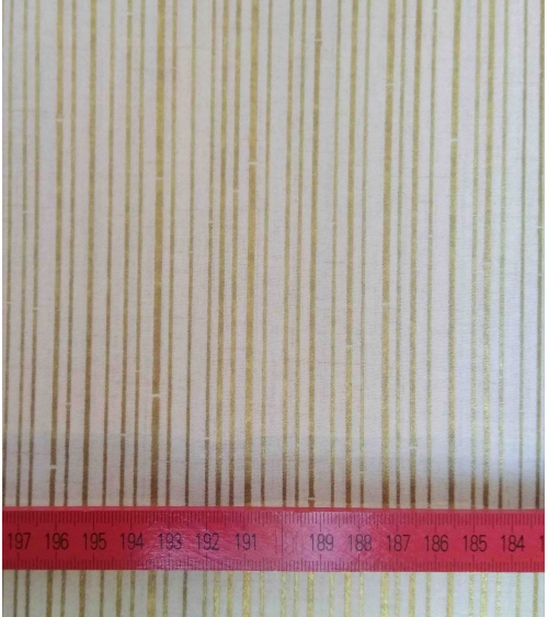 Japanese fabric. Golden bamboo over beige.