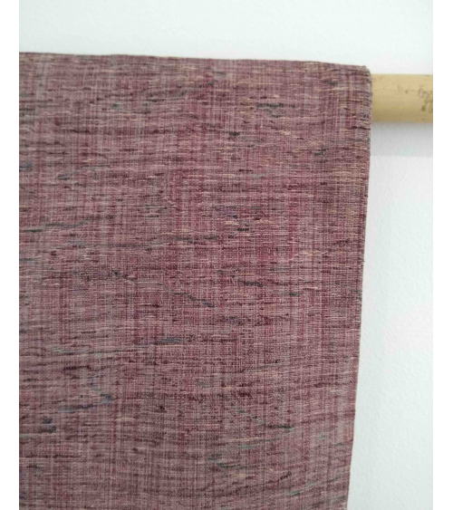 Haori vintage. Tsumugi en rosa palo.