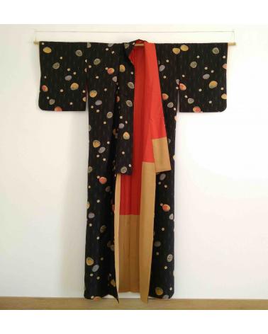 Kimono mujer Kaiawase (juego de conchas)
