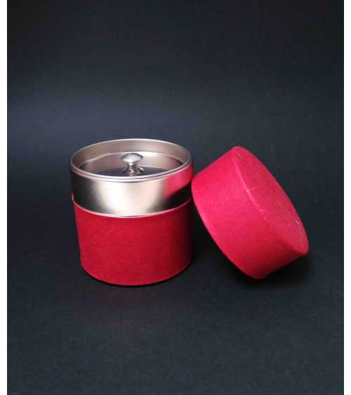 Bote para té Washi Rojo