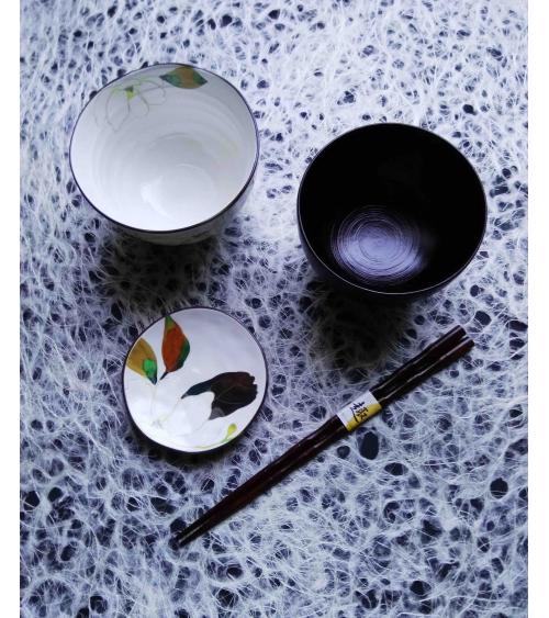 Individual Japanese dinner set 'Magnolia'