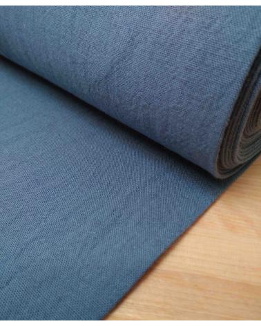 Loneta ligera teñida en azul plomo