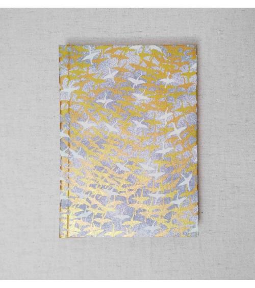 Notebook 13x18cm 'Grullas al vuelo'