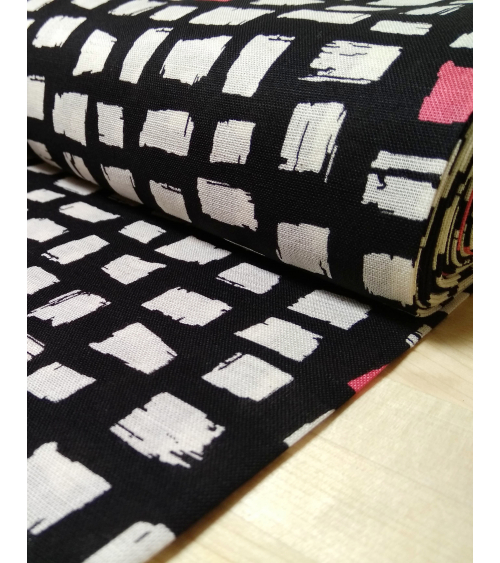 Tela japonesa. Printed shirting gráfica Blocks