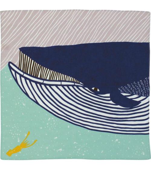 Furoshiki. Kata-kata ballena