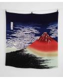 Furoshiki. Monte Fuji (68 cm x 68 cm)