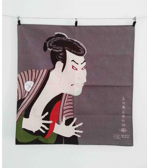 Furoshiki. Kabuki (48cm x 48cm)