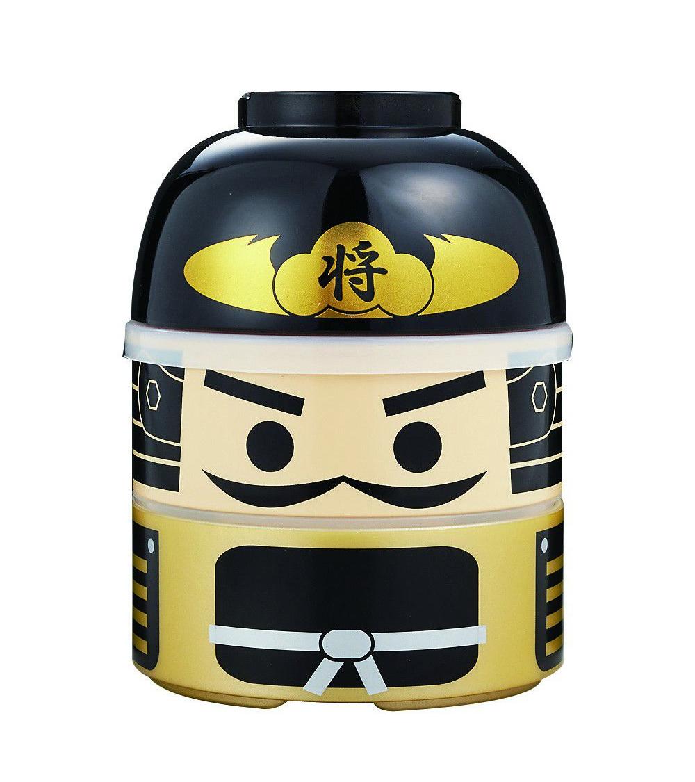 Bento box (Lunch box) samurai con traje dorado