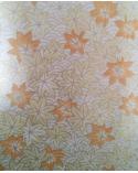 Papel Japonés Chiyogami de hojas de arce perladas