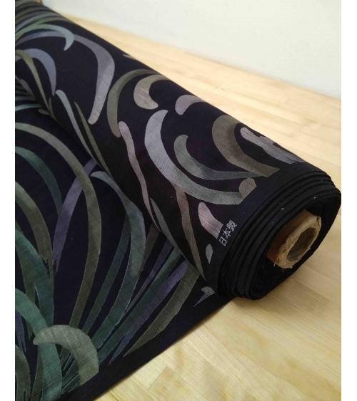 Japanese dobby fabric 'Kiku'