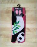 Calcetín tobillero tabi Pandas.