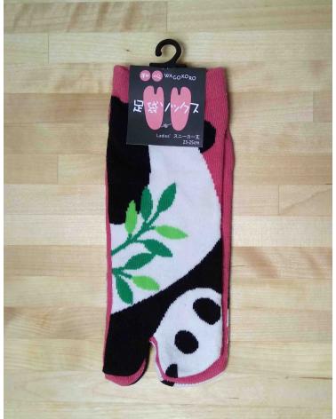 Calcetín tobillero tabi Oso Panda.
