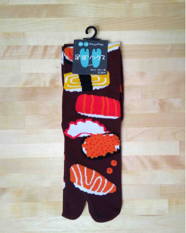 Calcetín tabi Sushi.