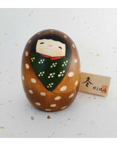 Kokeshi Fuyu (Invierno)