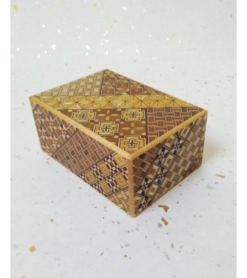Caja secreta 5 movimientos.