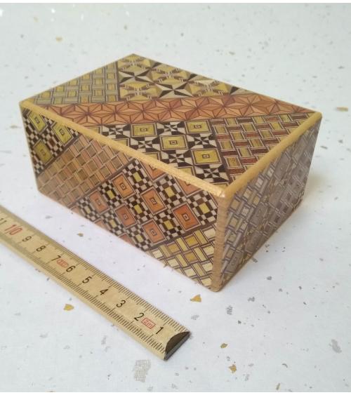 Caja secreta 12 movimientos mediana.