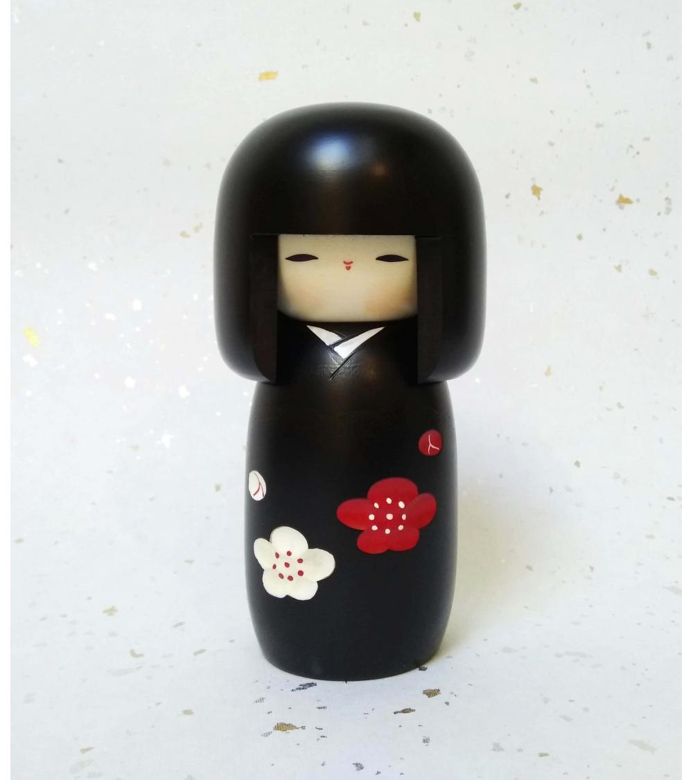 Kokeshi Ume (Flor de ciruelo).