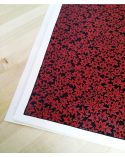 Lacquered chiyogami paper 'kaede'