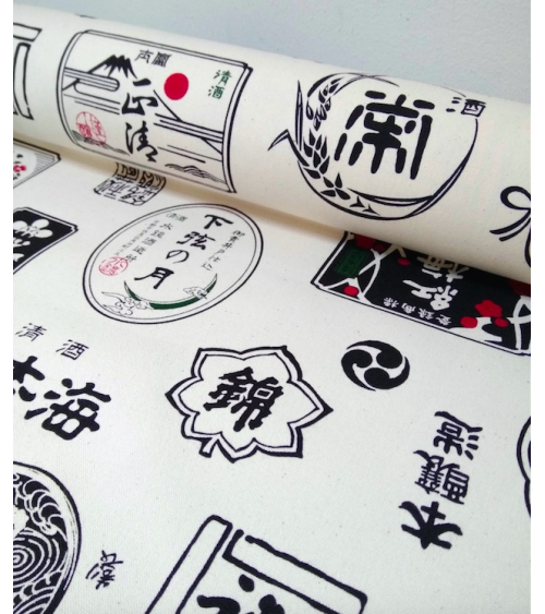 """Japanese fabric """"Sake"""""""