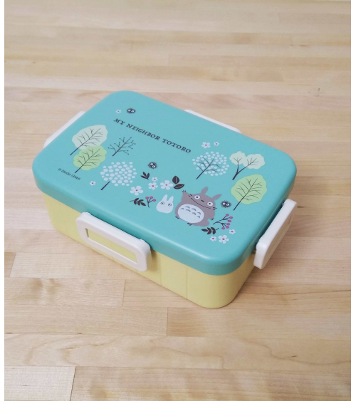 Bluish green Totoro Bento box. 650ml.