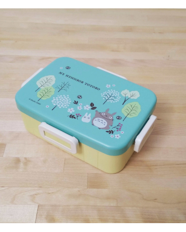 Bento box Totoro 650ml verde azulado.