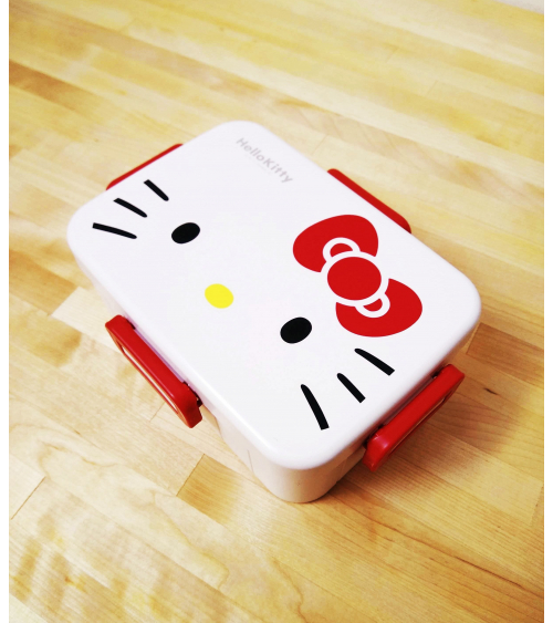 Bento box Hello Kitty 650ml blanca.