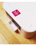 Bento box Hello Kitty 650ml blanca.