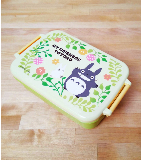 Apple green Totoro Bento box. 450ml.