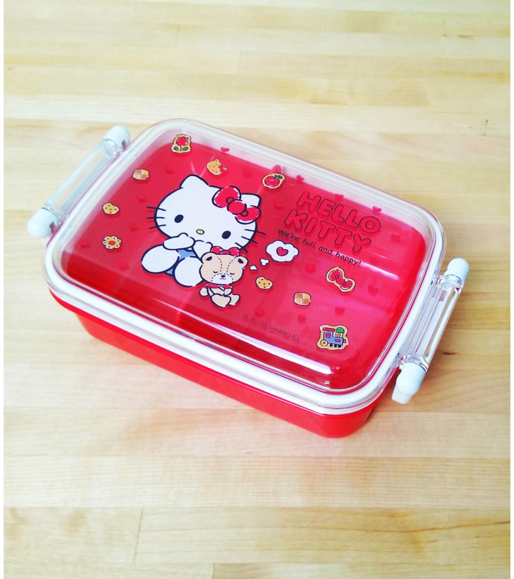 Bento box Hello Kitty 450ml roja.