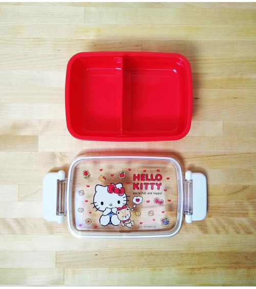 Bento box Hello Kitty 450ml roja.