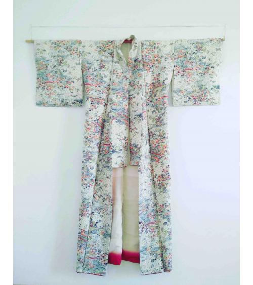 Vintage woman kimono 'Edo'