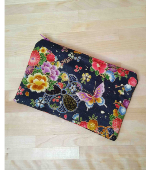 Butterflies and flowers Pouch